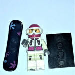 Lego series 4 ? Snowboarder  Minifigure 2011